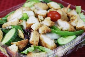 Checkmate Pizza Baked Chicken Salads