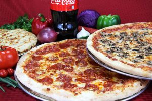 Checkmate Pizza Food Group Pizzas and Drinks