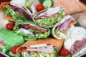 Checkmate Pizza Catering Wraps
