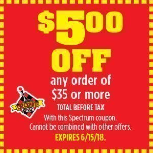 Checkmate Pizza $5.00 off coupon