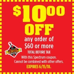 Checkmate Pizza $10.00 off Coupon