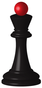 Checkmate Pizza King Chess Piece