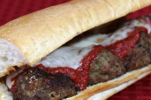 Checkmate Pizza Meatball Sub
