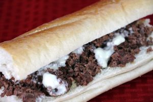 Checkmate Pizza Steak and Cheese Sub