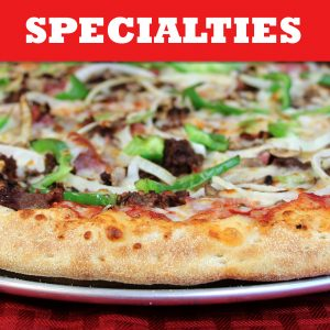 Steak Bomb Pizza - Specialties