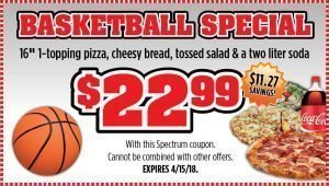 Checkmate Pizza Basketball Special Large