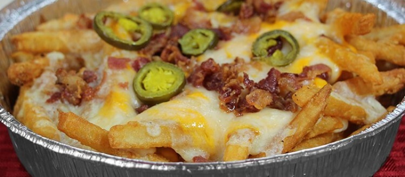 Checkmate Pizza Bacon Cheddar Fries Side