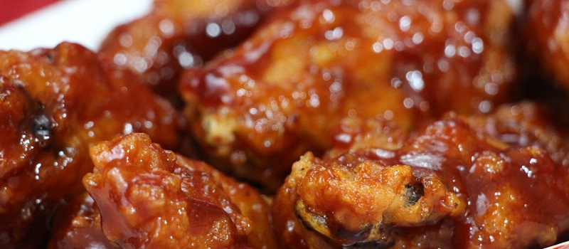 Checkmate Pizza BBQ Chicken Wings Side
