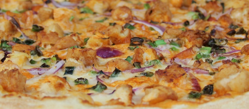Checkmate Pizza Buffalo Chicken Specialty Pizza