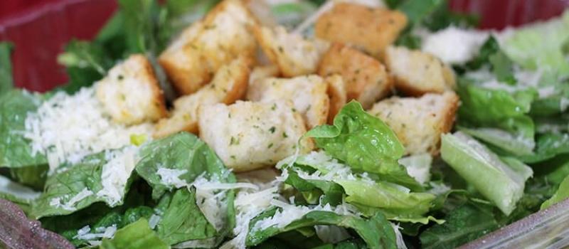 Checkmate Pizza Caesar Salad