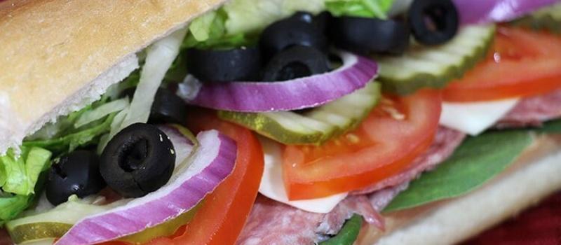 Checkmate Pizza Genoa and Provolone Sub
