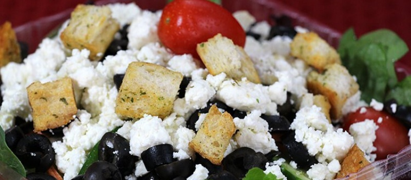 Checkmate Pizza Greek Salad