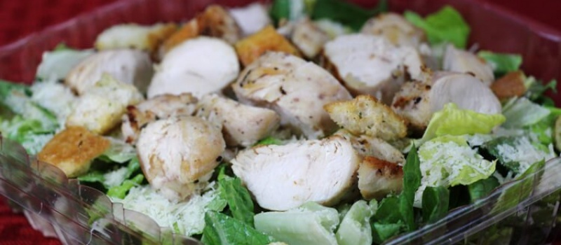 Checkmate Pizza Grilled Chicken Caesar Salad