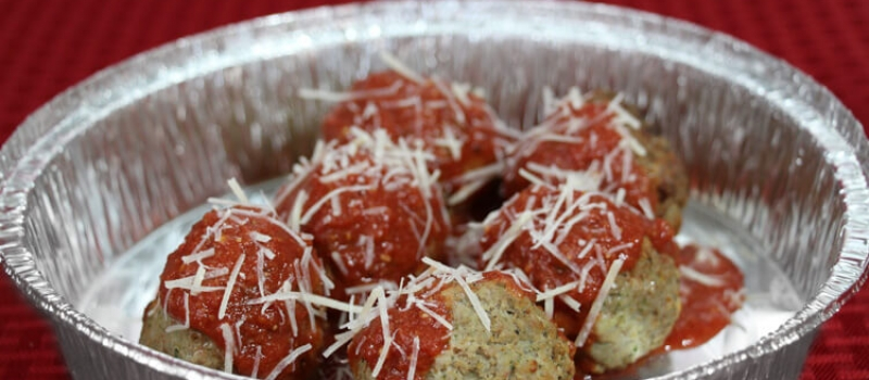 Checkmate Pizza Meatballs Sides
