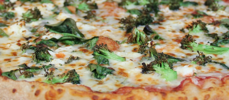 Checkmate Pizza Spinach, Broccoli, Feta Specialty Pizza