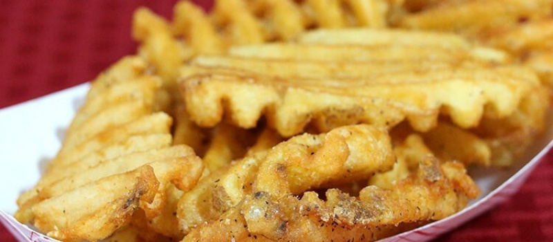Checkmate Pizza Waffle Fries Side